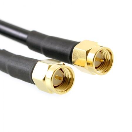 Antenne directive 4G/LTE MIMO log pérodique longue distance  9-11Dbi avec 10m câble coaxial rf-market