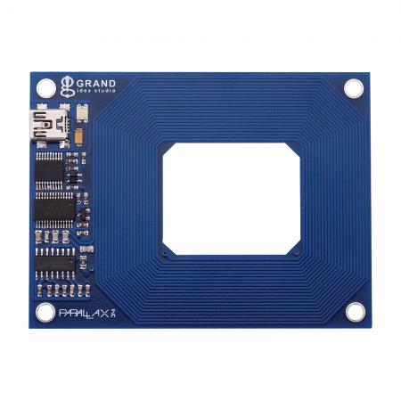Lecteur RFID USB PARALLAX rf-market