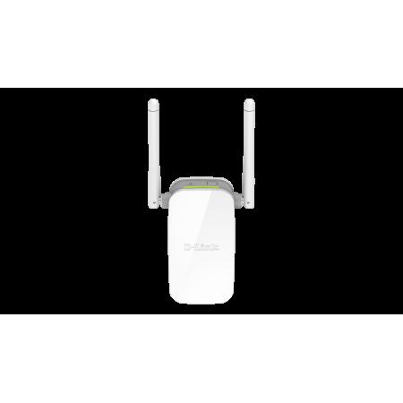 D-LINK Répéteur Wireless N 300 avec un port 10/100Mbps et 2 antennes externes WPS IEEE 802.11 b/g/n débit 300 Mbps rf-market