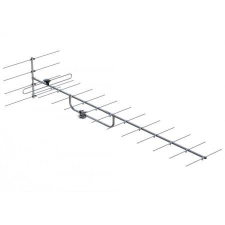 Antenne dab yagi 17 élements 14 dbi 5A-13A