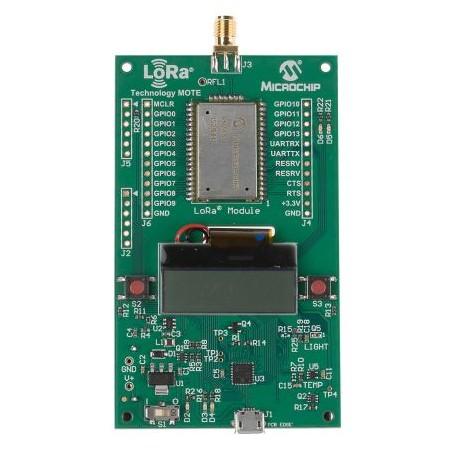 Nœud de développement LoRa Microship DM164138 RN2483