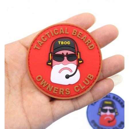 Badge tactique radio PVC impression 3D multi couleurs