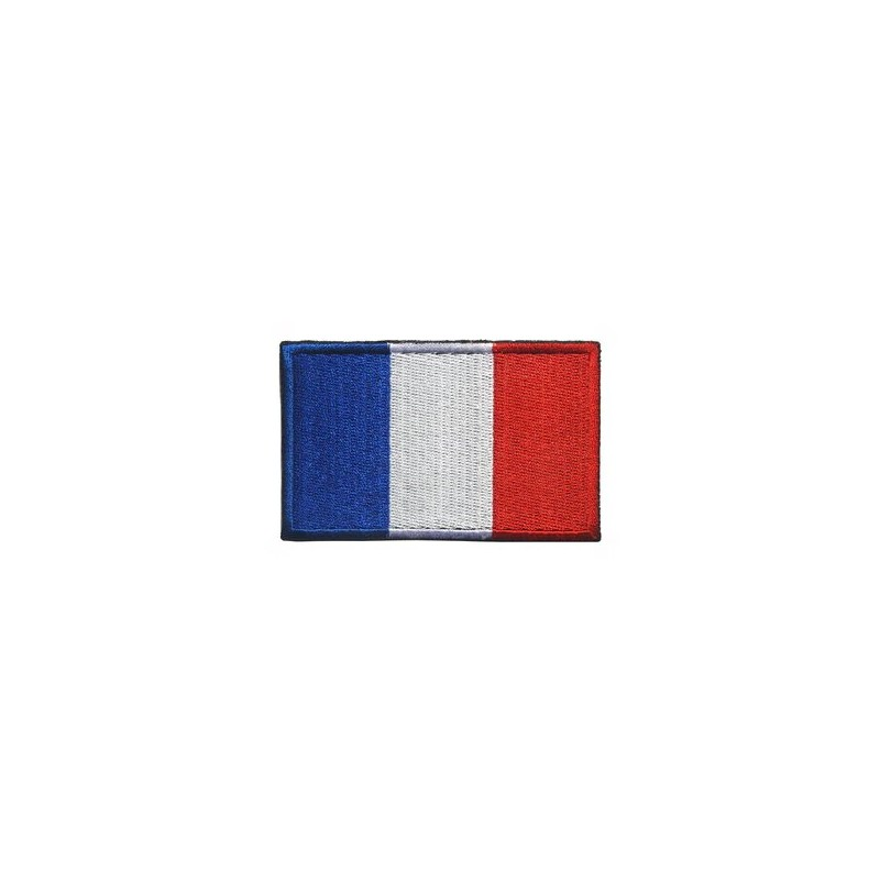 Patch brodé drapeau France rf-market