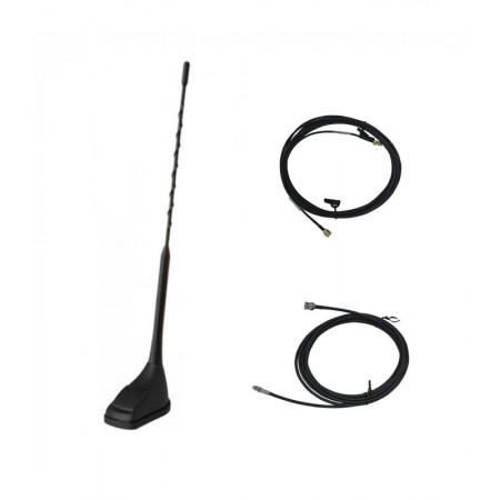 Antenne 5/8 TETRA-DMR-UHF (380-470MHz) + GPS-GNSS-GALILEO avec 5m de câble coaxial rf-market