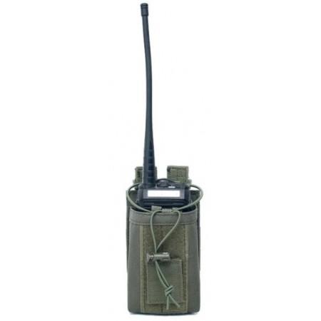 Etui radio kaki compatible Kenwood Icom Yaesu