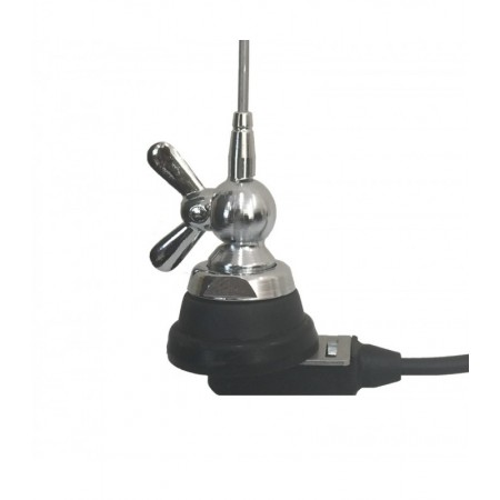 Antenne VHF professionnelle 1/4 onde avec câble coaxial rf-market
