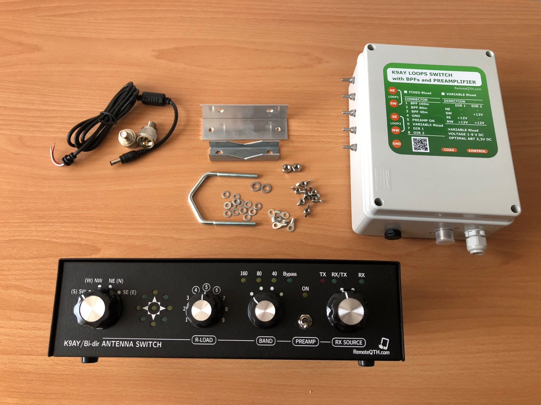kit complet antenne K9AY